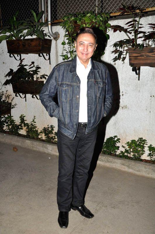Actor Anang Desai during the screening of film Take It Easy in Mumbai on Dec 30, 2014. - Anang Desai