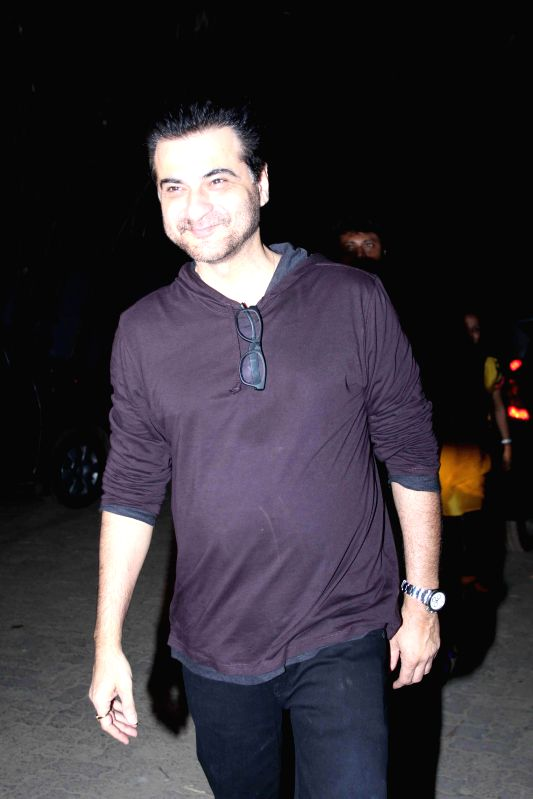 Actor and filmmaker Sanjay Kapoor during the special screening of film Tevar in Mumbai, on jan. 08, 2015. - Sanjay Kapoor