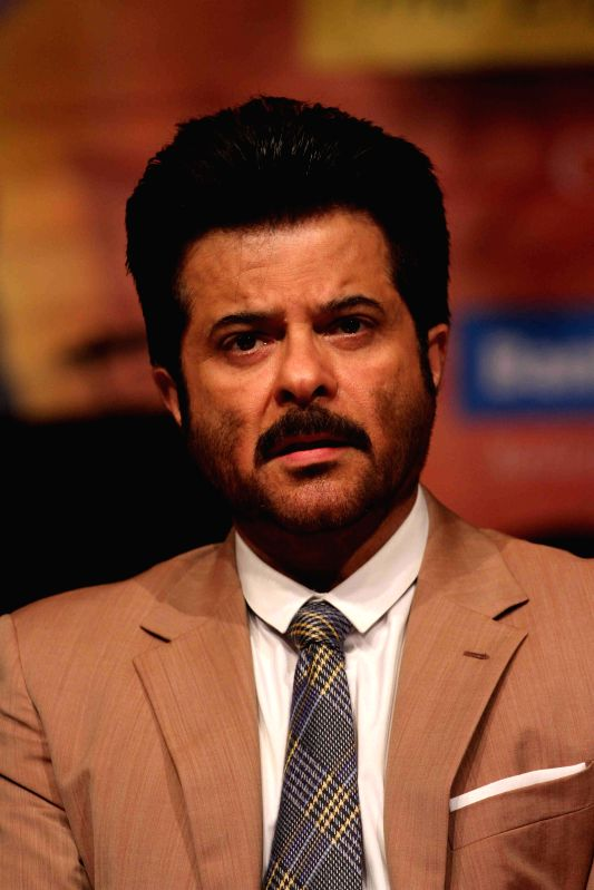 Actor Anil Kapoor during the Master Dinanath Mangeshkar Awards in Mumbai on April 24, 2015. - Anil Kapoor