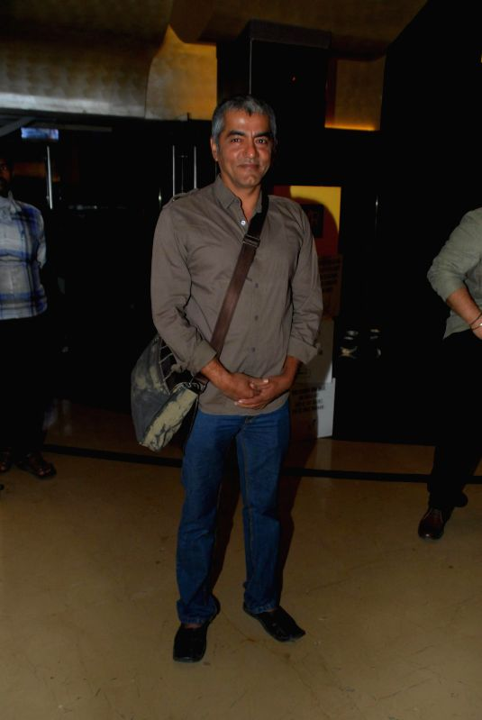 Actor Asif Basra during the My French Film Festival 2015 press meet and screening of film Eastern Boy at PVR Cinemas in Mumbai on 13th Jan 2015 - Asif Basra