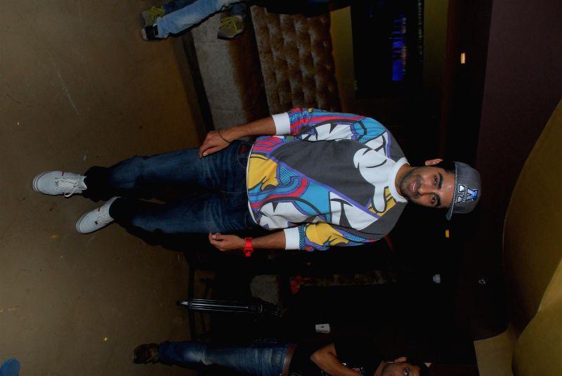 Actor Ayushmann Khurrana during the screening of film Sulemani Keeda in Mumbai,on Dec 10, 2014. - Ayushmann Khurrana