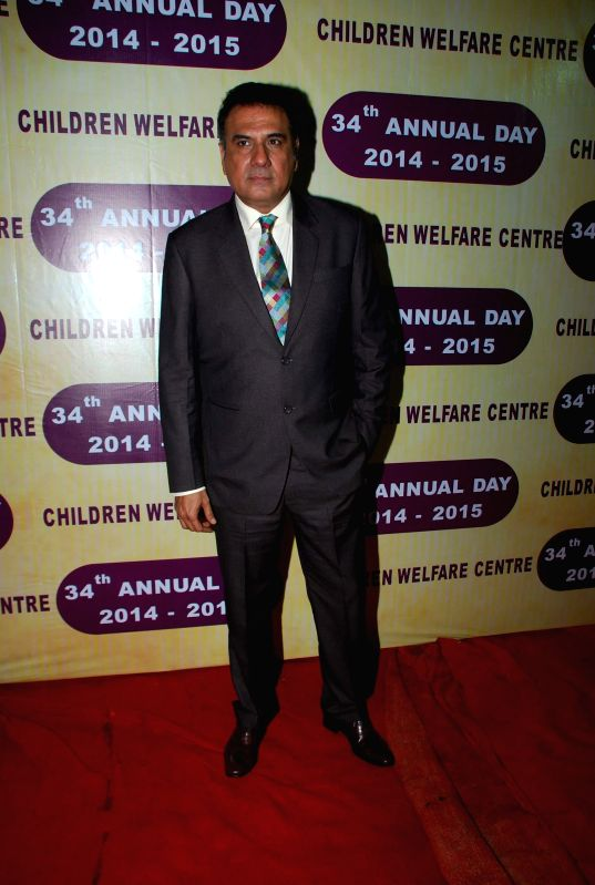 Actor Boman Irani during the 34th annual day celebration of Children`s Welfare Centre High School in Mumbai, on Feb 14, 2015. - Boman Irani