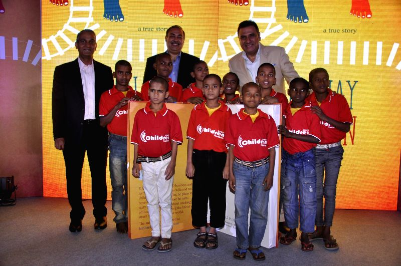 Actor Boman Irani during the launch of book Run Away Children by author S Hariharan in Mumbai on Jan 16, 2015. - Boman Irani
