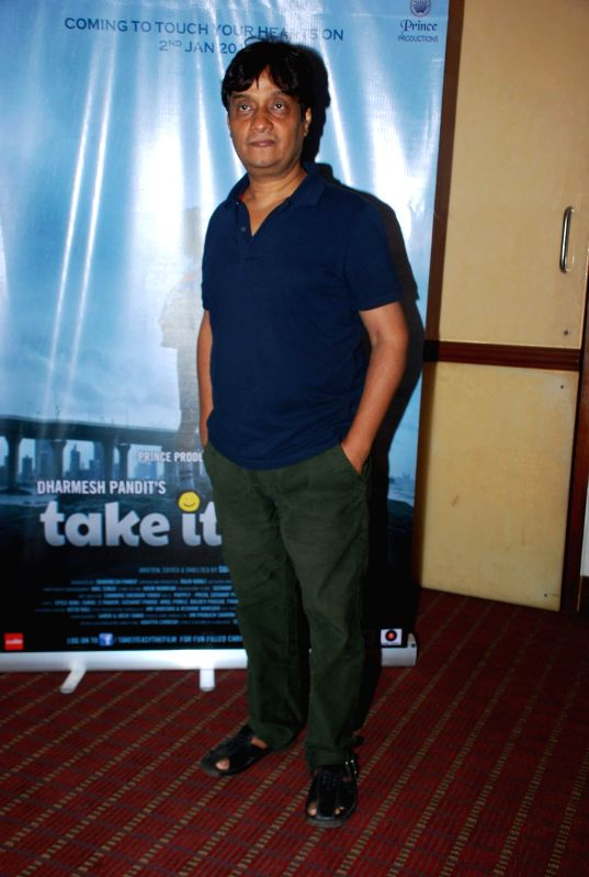 Actor Brijendra Kala during the media interaction of film Take it Easy in Mumbai, on Dec. 24, 2014. - Brijendra Kala