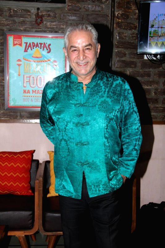 Actor Dalip Tahil during Bombariya Film Announcement launch party in Mumbai on April 21, 2015. - Dalip Tahil