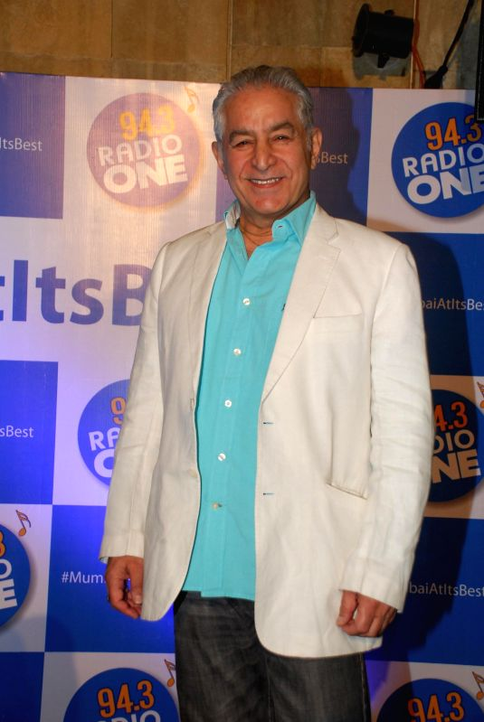Actor Dalip Tahil during the launch of 94.3 Radio One Mumbai`s `Mumbai at its best` CSR initiative, in Mumbai on 23, Dec. 2014. - Dalip Tahil
