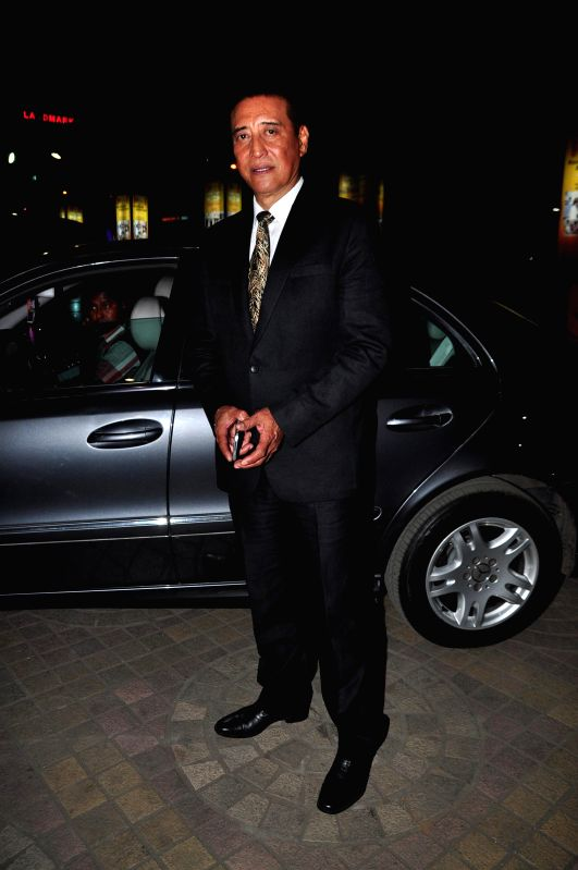 Actor Danny Denzongpa during the trailer launch of film Baby in Mumbai, on Dec 3, 2014. - Danny Denzongpa