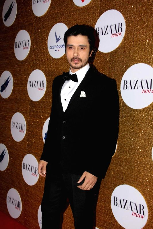 Actor Darshan Kumar during the Red Carpet For Harper's Bazaar Bride 1st Anniversary Party in Mumbai on February 2015. - Darshan Kumar