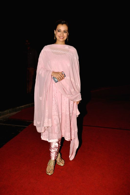 Actor Dia Mirza during Rotary Club of Bombay`s WOW District Conference 2015 (DISCON) in Mumbai on  Feb 01, 2015. - Dia Mirza