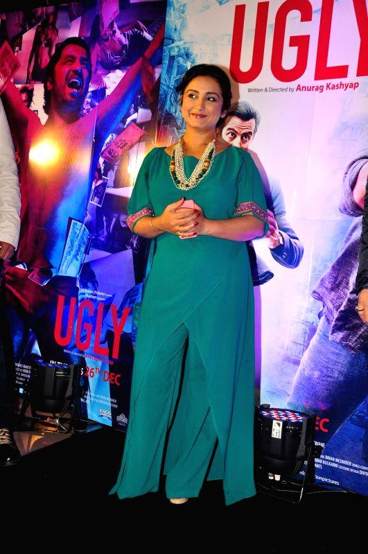 Actor Divya Dutta during the premiere of film Ugly in Mumbai on 23, Dec. 2014. - Divya Dutta