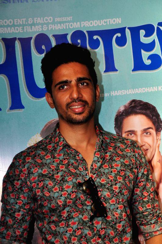 Actor Gulshan Devaiah during the trailer launch of upcoming film 'Hunterrr'in Mumbai, on Jan. 15, 2015. - Gulshan Devaiah