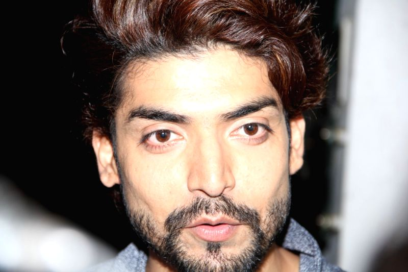 Actor Gurmeet Choudhary during the screening of Film Mr.X in Mumbai on April 2, 2015. - Gurmeet Choudhary