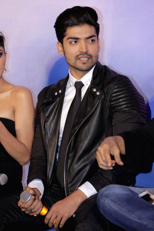 Actor Gurmeet Choudhary during the music launch of film Khamoshiyan in Mumbai on 5th Jan 2015 - Gurmeet Choudhary