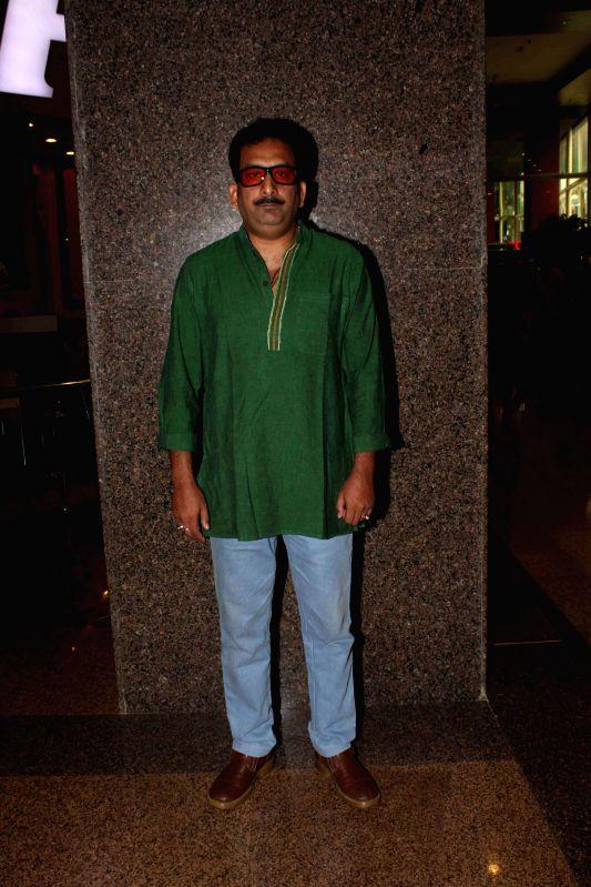 Actor Hemannt Pandey during the inauguration of Sanskriti restaurant in Mumbai on March 5, 2015. - Hemannt Pandey