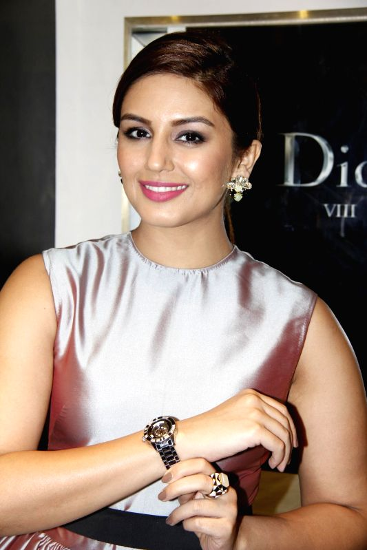 Actor Huma Qureshi during the Launch of Dior Watches in Mumbai on Sunday, Dec. 7, 2014. - Huma Qureshi