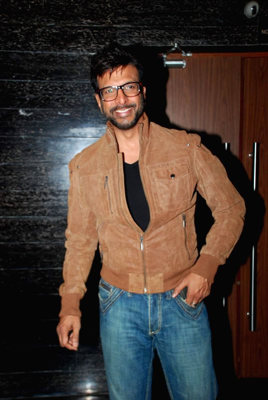Actor Jaaved Jaffrey during screening of the film Hawaizaada in Mumbai on January 29, 2015. - Jaaved Jaffrey