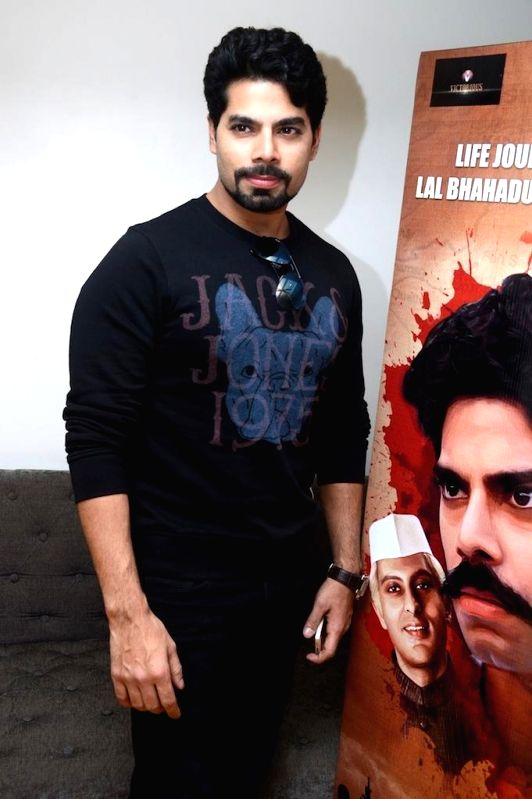 Actor Jatin Khurana during the trailer launch of film Jai Jawaan Jai Kisaan in Mumbai, on Jan. 16, 2015. - Jatin Khurana