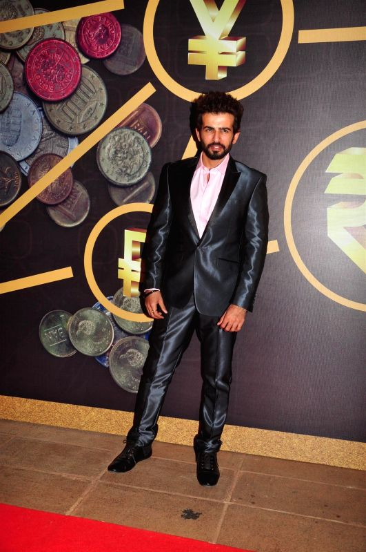 Actor Jay Bhanushali at the NRI of the year awards, in Mumbai on April 10, 2015. - Jay Bhanushali
