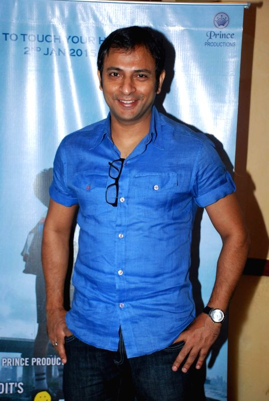 Actor Joy Sengupta during the media interaction of film Take it Easy in Mumbai, on Dec. 24, 2014. - Joy Sengupta