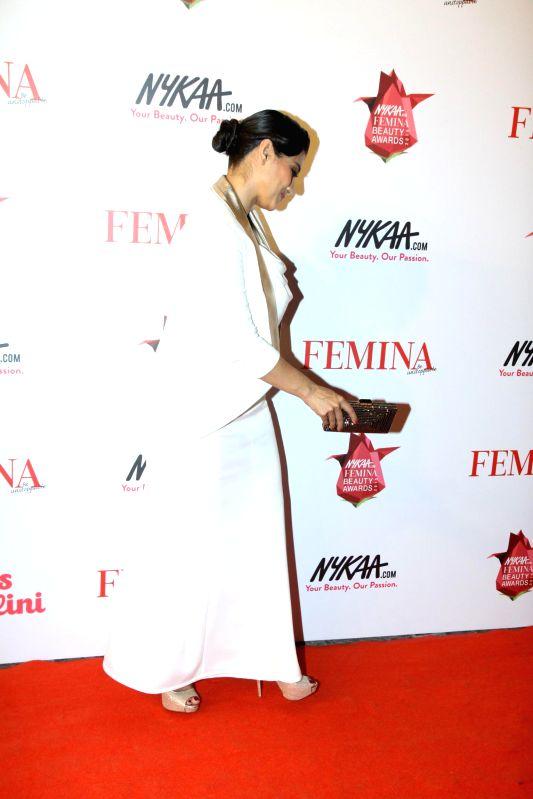Actor Kajol Devgan during the Nykaa.com Femina Beauty Awards 2015 in Mumbai, on Feb 11, 2015. - Kajol Devgan