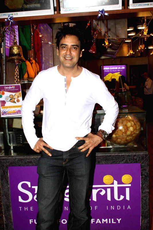 Actor Karan Obero during the inauguration of Sanskriti restaurant in Mumbai on March 5, 2015. - Karan Obero
