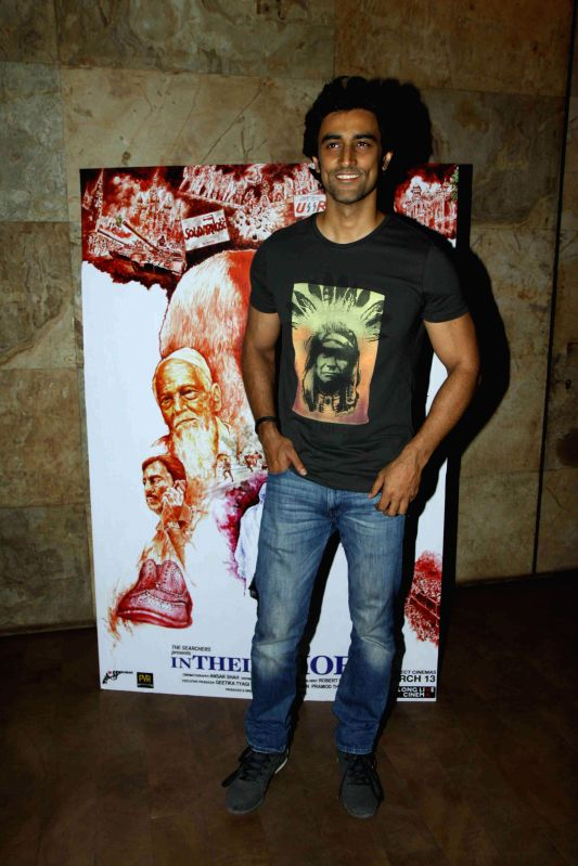 Actor Kunal Kapoor during the screening of film In Their Shoes in Mumbai, on March 10, 2015. - Kunal Kapoor