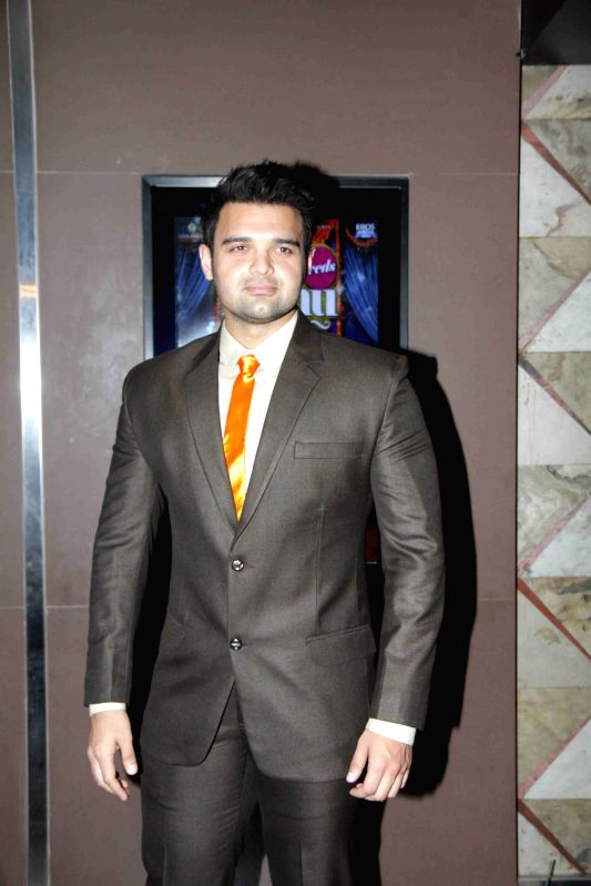Actor Mahaakshay Chakraborty during the music launch of film Ishqedarriyaan in Mumbai on April 24, 2015. - Mahaakshay Chakraborty