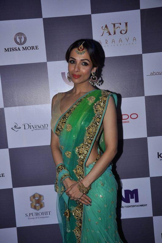 Actor Malaika Arora Khan during Madame Style Week fashion show in Mumbai, on Nov. 22, 2014. - Malaika Arora Khan