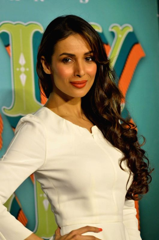 Actor Malaika Arora Khan during the trailer launch of film Dolly Ki Doli in Mumbai, on Dec. 12, 2014. - Malaika Arora Khan