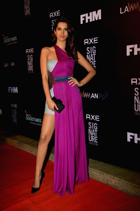 Actor Manasvi Mamgai during the Trailer Bachelor of the Year Awards 2014 in Mumbai, on Dec. 22, 2014. - Manasvi Mamgai