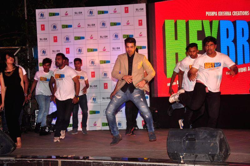 Actor Maninder Singh during the success bash of film Hey Bro music in Mumbai on Feb 22, 2015. - Maninder Singh