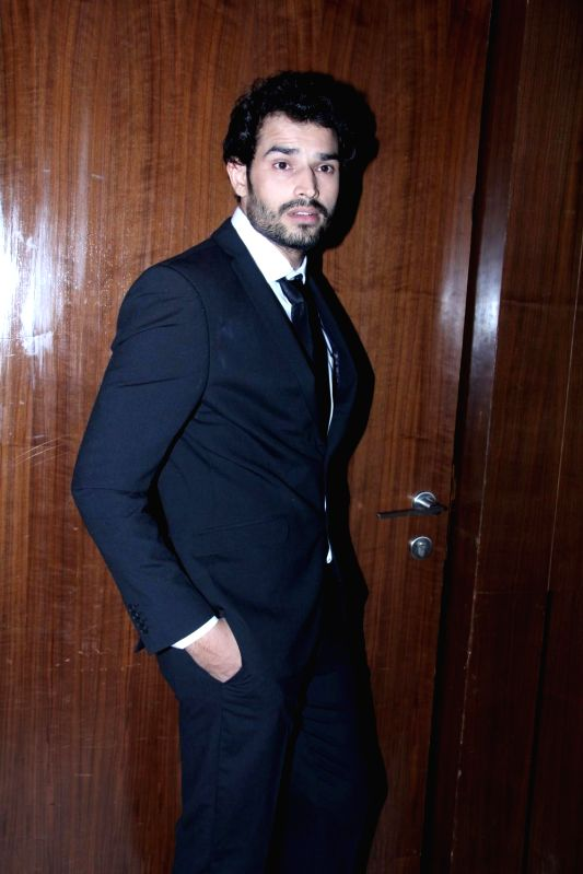 Actor Manoj Sharma during the music launch of film Three Atrangi Jai-Veeru-Gabbar in Mumbai on March 20, 2015. - Manoj Sharma