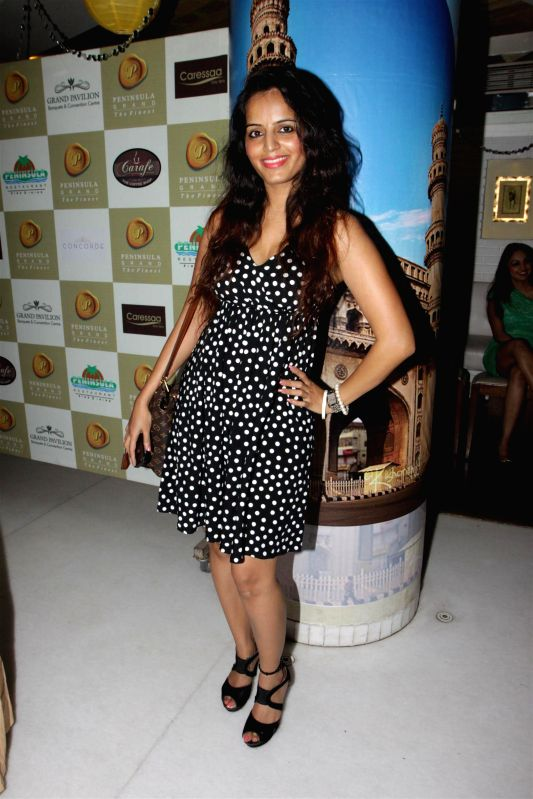 Actor Meghna Patel during the Cake Mixing event, Mumbai on Nov. 24, 2014. - Meghna Patel