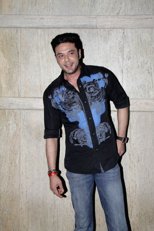 Actor Mohit Ahlawat during Ahmed Khan and Shahira Khan's wedding anniversary party in Mumbai on 7th, Feb. 2015. - Mohit Ahlawat