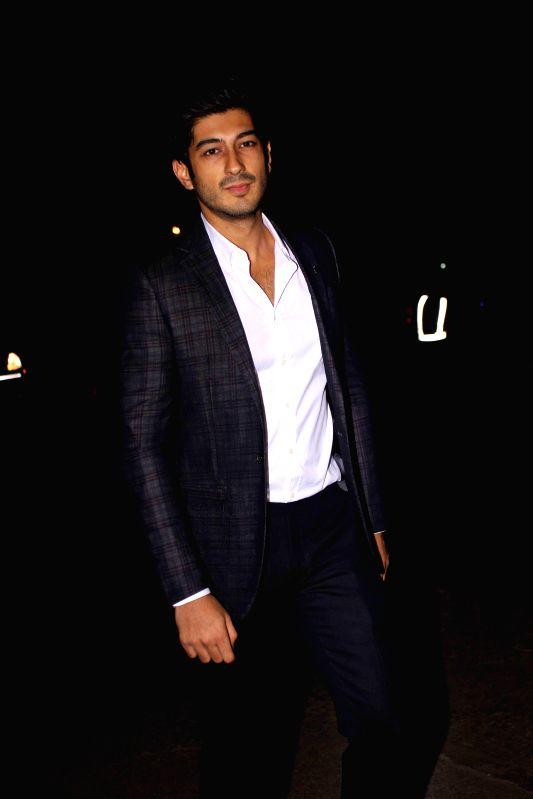 Actor Mohit Marwah during the launch of designer Samyukta Nair`s night wear label Dandelion, in Mumbai, on Feb 5, 2015. - Mohit Marwah