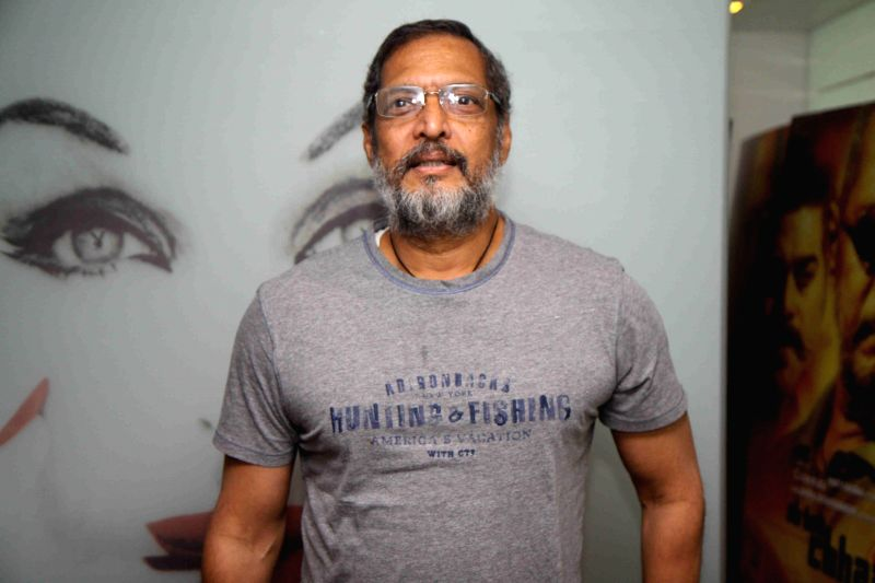 Actor Nana Patekar during the promotion of film Ab Tak Chhappan 2 in Mumbai on Feb 17, 2015. (Photo : IANS) - Nana Patekar