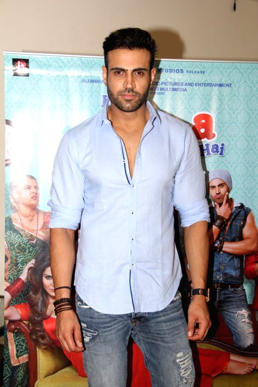 Actor Navdeep Chhabra during a media interaction at the promotion of film Kuch Kuch Locha Hai in Mumbai. - Navdeep Chhabra