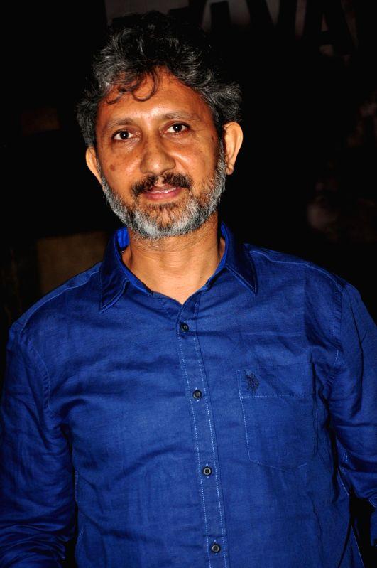 Mumbai: Actor Neeraj Kabi during the trailer launch of film Talvar in Mumbai on Aug 22, 2015.