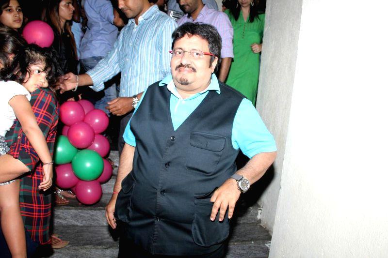Actor Neeraj Vora during the screening of film Shamitabh in Mumbai, on Feb 5, 2015. - Neeraj Vora