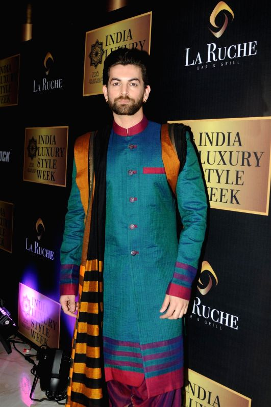 Actor Neil Nitin Mukesh during the announcement of India Luxury Style Week 2015 in Mumbai on, April 28, 2015. - Neil Nitin Mukesh