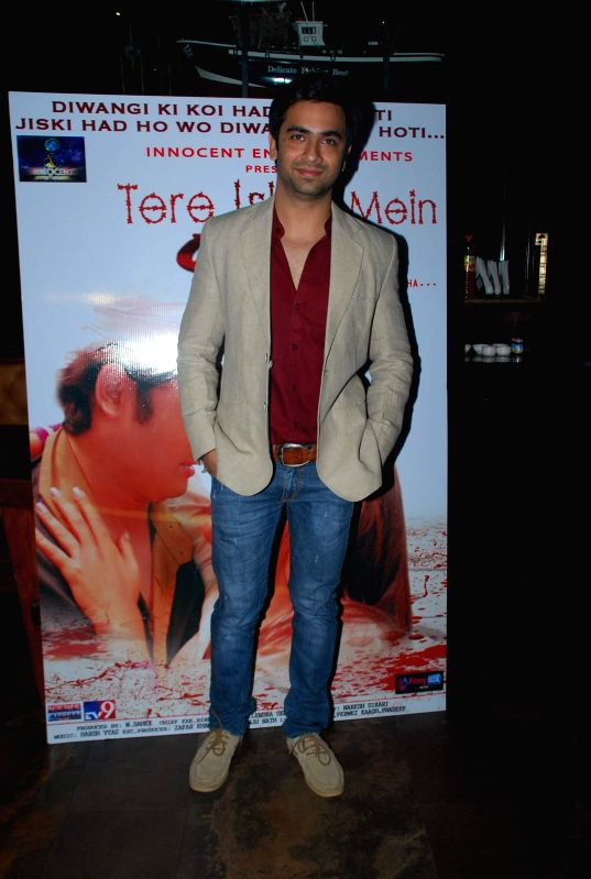 Actor Nikhil Sharma during the music launch of film Tere Ishq Mein Kurban in Mumbai, on Jan. 12, 2015. - Nikhil Sharma