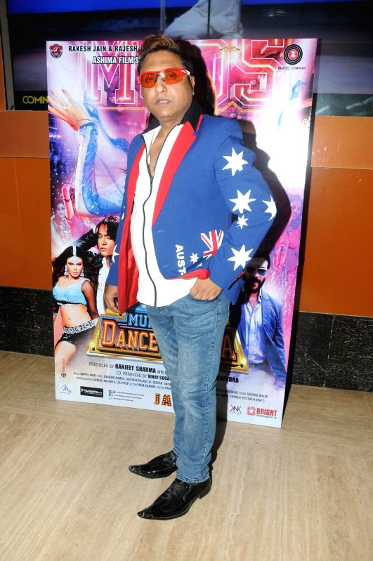 Actor Paddy during the trailer launch of film Mumbai Can Dance Saala in Mumbai, on Dec. 22, 2014. - Paddy