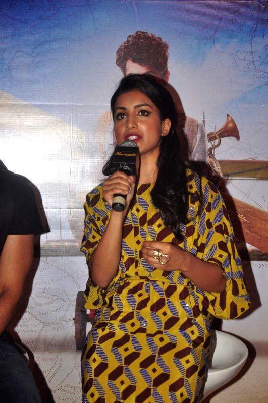 Actor Pallavi Sharda during the trailer launch of film Hawaizaada, in Mumbai, on Dec 23, 2014. - Pallavi Sharda
