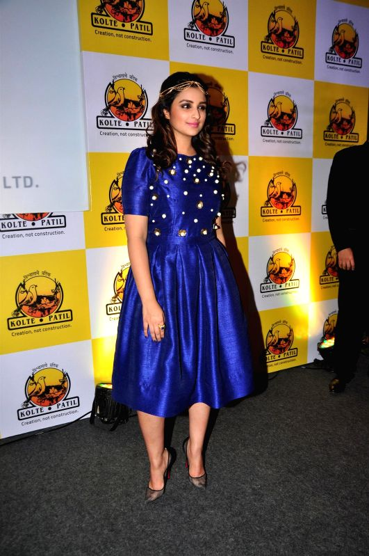 Actor Parineeti Chopra during the launch of KPDL Mobile App - Customer Connect and Partner Connect in Mumbai, on Jan. 16, 2015. - Parineeti Chopra