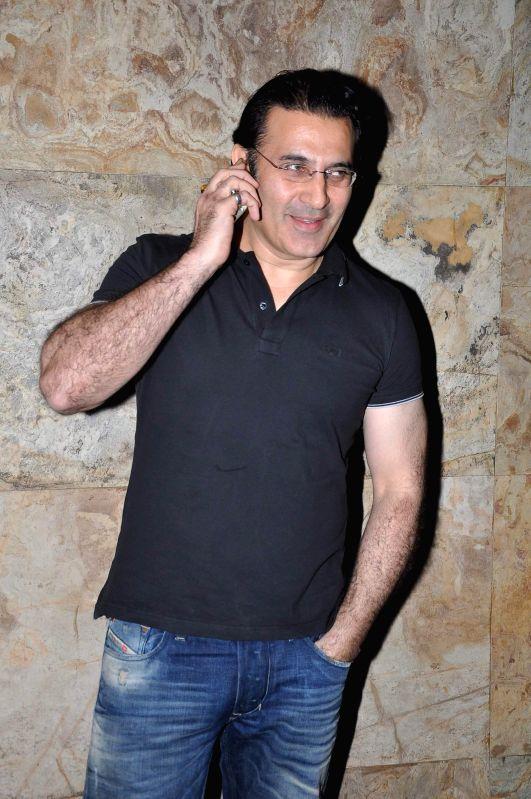 Actor Parmeet Sethi during the screening of film Big Eyes at Lightbox in Mumbai on Dec 30, 2014. - Parmeet Sethi
