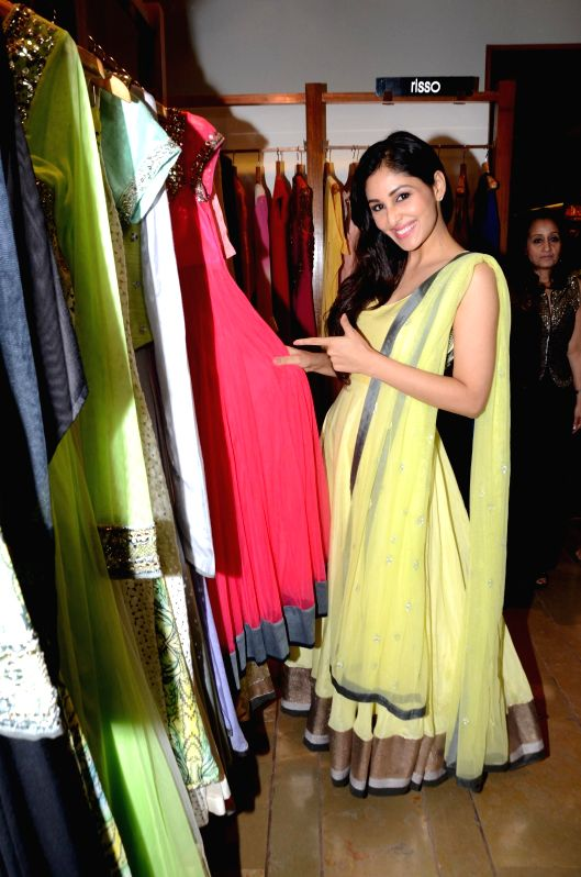 Actor Pooja Chopra during the launch of fashion designer Kanika Kedia's Spring Summer collection 2015 in Mumbai, on March 16, 2015. - Pooja Chopra