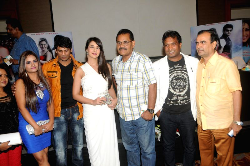 Actor Preeti Jhangiani during the trailer launch of film Kaash Tum Hote in Mumbai, on Dec 9, 2014. - Preeti Jhangiani