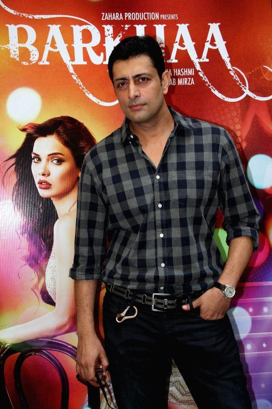 Actor Priyanshu Chatterjee during film Barkhaa trailer launch in Mumbai on March 5, 2015. - Priyanshu Chatterjee