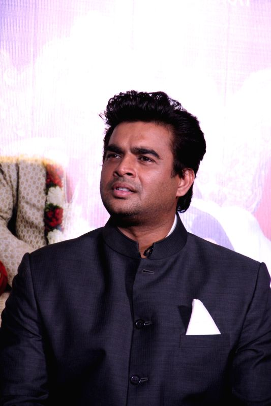 Actor R Madhavan during the trailer launch of film Tanu Weds Manu Returns in Mumbai on April 14, 2015. - R Madhavan