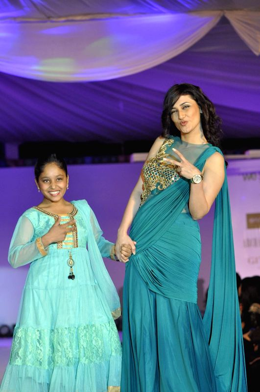 Actor Ragini during the the Global Peace Initiative, 2014 event in Mumbai on Nov 26, 2014. - Ragini